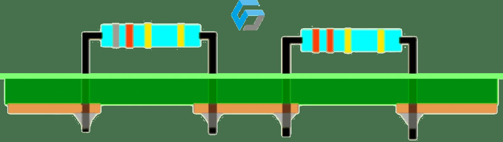 Illustrazione parti circuito stamapto